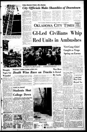 Primary view of object titled 'Oklahoma City Times (Oklahoma City, Okla.), Vol. 79, No. 35, Ed. 1 Saturday, March 30, 1968'.