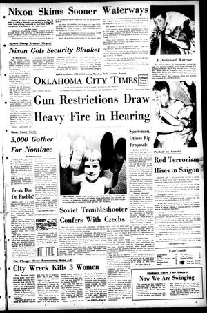 Primary view of object titled 'Oklahoma City Times (Oklahoma City, Okla.), Vol. 79, No. 173, Ed. 1 Saturday, September 7, 1968'.