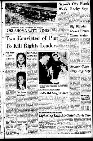 Primary view of object titled 'Oklahoma City Times (Oklahoma City, Okla.), Vol. 79, No. 101, Ed. 1 Saturday, June 15, 1968'.