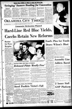 Primary view of object titled 'Oklahoma City Times (Oklahoma City, Okla.), Vol. 79, No. 143, Ed. 1 Saturday, August 3, 1968'.