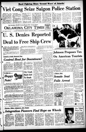 Primary view of object titled 'Oklahoma City Times (Oklahoma City, Okla.), Vol. 78, No. 301, Ed. 1 Monday, February 5, 1968'.