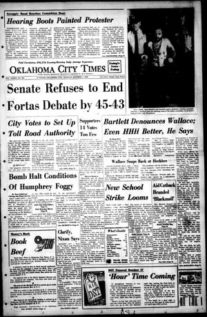 Primary view of object titled 'Oklahoma City Times (Oklahoma City, Okla.), Vol. 79, No. 193, Ed. 1 Tuesday, October 1, 1968'.