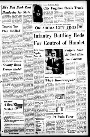 Primary view of object titled 'Oklahoma City Times (Oklahoma City, Okla.), Vol. 79, No. 32, Ed. 1 Wednesday, March 27, 1968'.