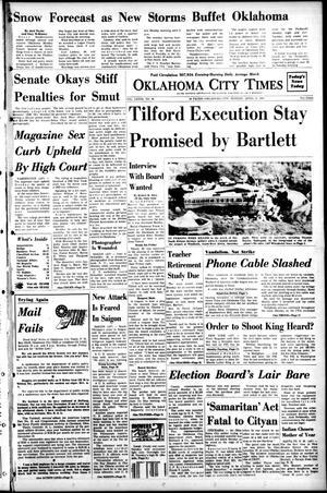 Primary view of Oklahoma City Times (Oklahoma City, Okla.), Vol. 79, No. 54, Ed. 1 Monday, April 22, 1968