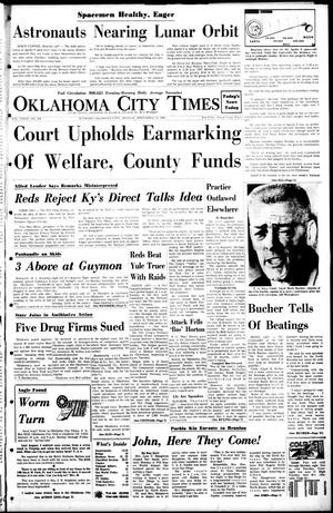 Primary view of object titled 'Oklahoma City Times (Oklahoma City, Okla.), Vol. 79, No. 264, Ed. 1 Monday, December 23, 1968'.