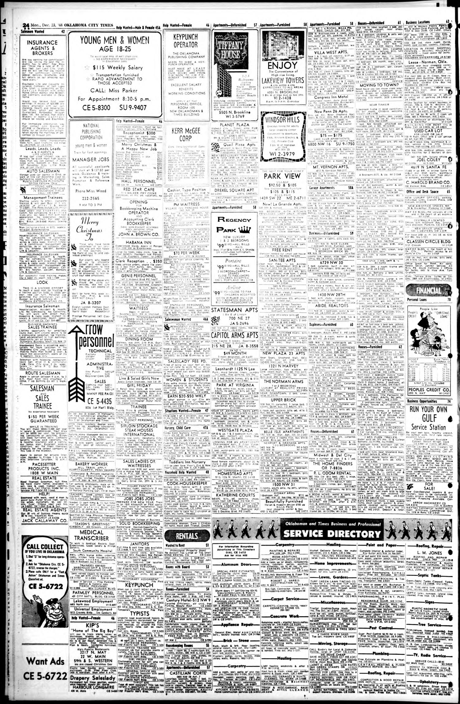 Oklahoma City Times (Oklahoma City, Okla ), Vol  79, No  264