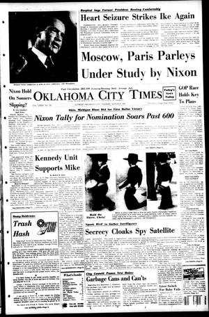 Primary view of object titled 'Oklahoma City Times (Oklahoma City, Okla.), Vol. 79, No. 145, Ed. 1 Tuesday, August 6, 1968'.