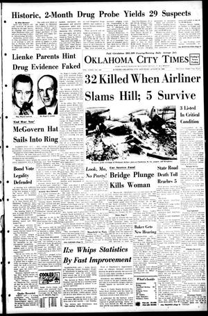Primary view of object titled 'Oklahoma City Times (Oklahoma City, Okla.), Vol. 79, No. 149, Ed. 1 Saturday, August 10, 1968'.