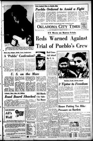 Oklahoma City Times (Oklahoma City, Okla.), Vol. 78, No. 293, Ed. 1 Friday, January 26, 1968