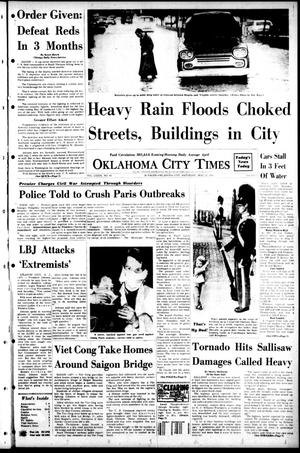 Primary view of object titled 'Oklahoma City Times (Oklahoma City, Okla.), Vol. 79, No. 83, Ed. 1 Saturday, May 25, 1968'.