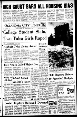Primary view of object titled 'Oklahoma City Times (Oklahoma City, Okla.), Vol. 79, No. 102, Ed. 1 Monday, June 17, 1968'.