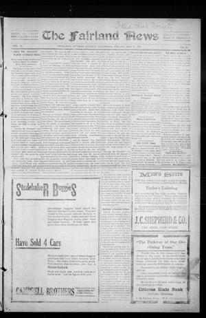 Primary view of object titled 'The Fairland News (Fairland, Okla.), Vol. 6, No. 8, Ed. 1 Friday, May 9, 1913'.