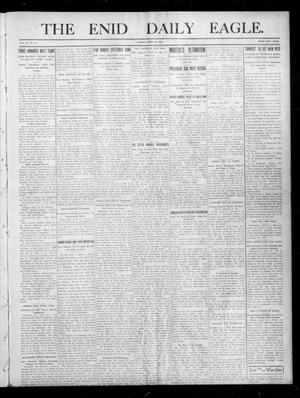 Primary view of object titled 'The Enid Daily Eagle. (Enid, Okla.), Vol. 10, No. 31, Ed. 1 Friday, April 21, 1911'.