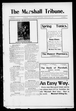 Primary view of object titled 'The Marshall Tribune. (Marshall, Okla.), Vol. 4, No. 2, Ed. 1 Friday, May 5, 1905'.