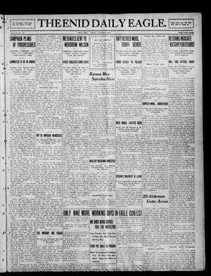 Primary view of object titled 'The Enid Daily Eagle. (Enid, Okla.), Vol. 11, No. 114, Ed. 1 Friday, August 9, 1912'.