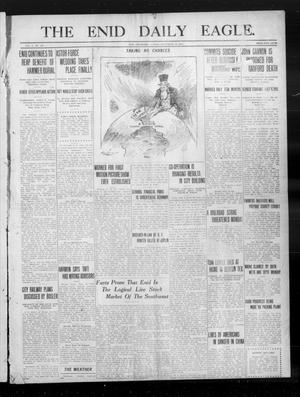 Primary view of object titled 'The Enid Daily Eagle. (Enid, Okla.), Vol. 10, No. 147, Ed. 1 Sunday, September 10, 1911'.