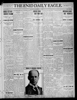 Primary view of object titled 'The Enid Daily Eagle. (Enid, Okla.), Vol. 11, No. 24, Ed. 1 Wednesday, April 24, 1912'.