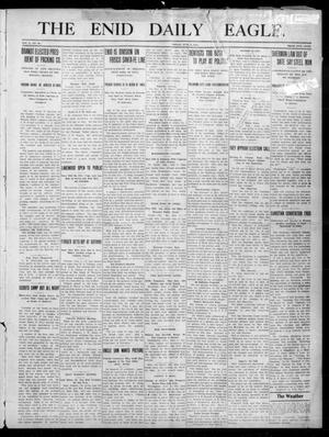 Primary view of object titled 'The Enid Daily Eagle. (Enid, Okla.), Vol. 10, No. 66, Ed. 1 Friday, June 2, 1911'.