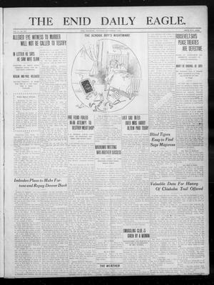 Primary view of object titled 'The Enid Daily Eagle. (Enid, Okla.), Vol. 10, No. 145, Ed. 1 Thursday, September 7, 1911'.
