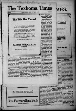 Primary view of object titled 'The Texhoma Times. (Texhoma, Okla.), Vol. 6, No. 1, Ed. 1 Friday, September 17, 1909'.