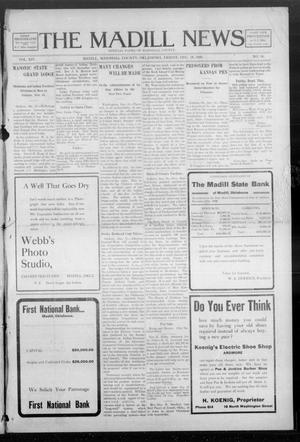 Primary view of object titled 'The Madill News (Madill, Okla.), Vol. 14, No. 16, Ed. 1 Friday, December 18, 1908'.