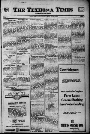 Primary view of object titled 'The Texhoma Times (Texhoma, Okla.), Ed. 1 Friday, January 19, 1923'.