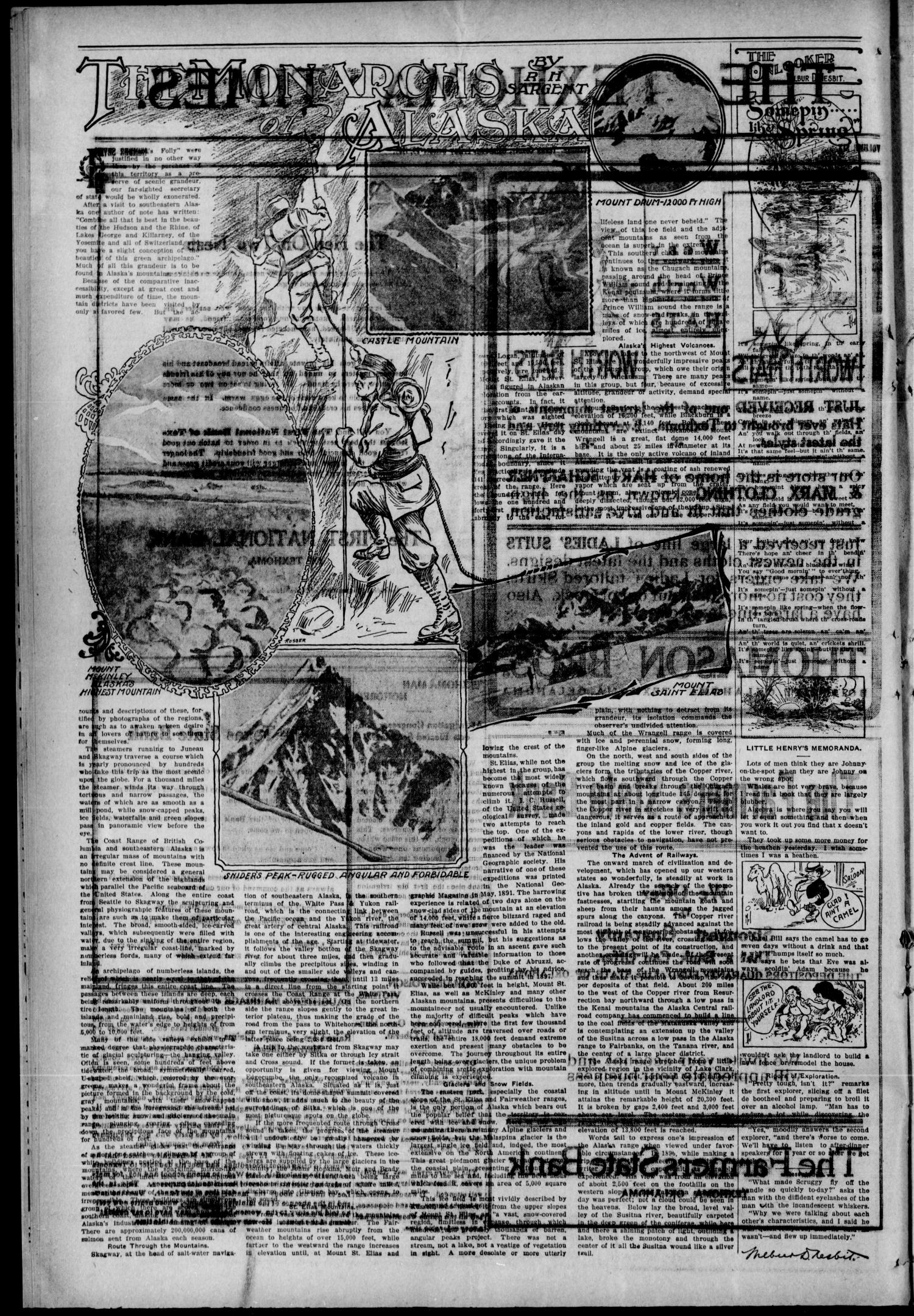 The Texhoma Times. (Texhoma, Okla.), Vol. 6, No. 7, Ed. 1 Friday, October 29, 1909                                                                                                      [Sequence #]: 2 of 8