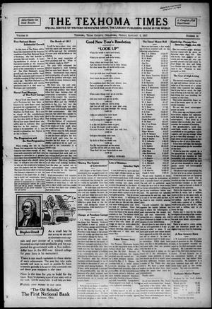 Primary view of The Texhoma Times (Texhoma, Okla.), Vol. 14, No. 14, Ed. 1 Friday, January 5, 1917