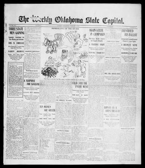 Primary view of object titled 'The Weekly Oklahoma State Capital. (Guthrie, Okla.), Vol. 16, No. 45, Ed. 1 Saturday, February 4, 1905'.