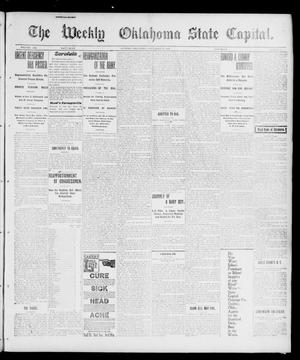Primary view of object titled 'The Weekly Oklahoma State Capital. (Guthrie, Okla.), Vol. 12, No. 35, Ed. 1 Saturday, December 22, 1900'.
