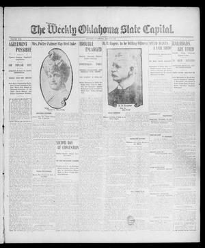 Primary view of object titled 'The Weekly Oklahoma State Capital. (Guthrie, Okla.), Vol. 17, No. 48, Ed. 1 Thursday, March 15, 1906'.