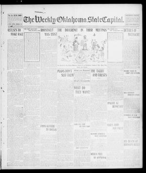 Primary view of object titled 'The Weekly Oklahoma State Capital. (Guthrie, Okla.), Vol. 14, No. 24, Ed. 1 Saturday, September 20, 1902'.