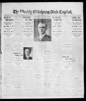 Primary view of object titled 'The Weekly Oklahoma State Capital. (Guthrie, Okla.), Vol. 17, No. 3, Ed. 1 Saturday, April 15, 1905'.