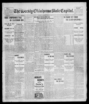 Primary view of object titled 'The Weekly Oklahoma State Capital. (Guthrie, Okla.), Vol. 14, No. 45, Ed. 1 Saturday, February 7, 1903'.