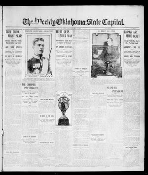 Primary view of object titled 'The Weekly Oklahoma State Capital. (Guthrie, Okla.), Vol. 17, No. 8, Ed. 1 Saturday, May 20, 1905'.