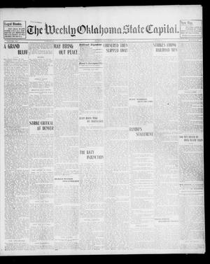 Primary view of object titled 'The Weekly Oklahoma State Capital. (Guthrie, Okla.), Vol. 14, No. 14, Ed. 1 Saturday, July 12, 1902'.