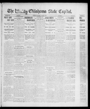 Primary view of object titled 'The Weekly Oklahoma State Capital. (Guthrie, Okla.), Vol. 18, No. 17, Ed. 1 Saturday, August 11, 1906'.