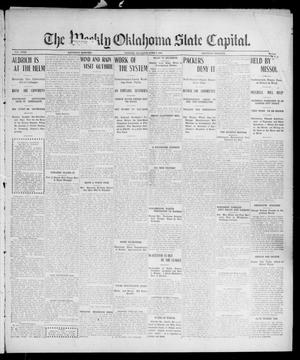 Primary view of object titled 'The Weekly Oklahoma State Capital. (Guthrie, Okla.), Vol. 18, No. 7, Ed. 1 Saturday, June 9, 1906'.