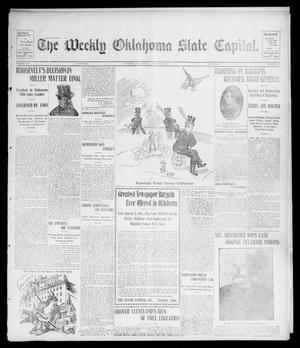 Primary view of object titled 'The Weekly Oklahoma State Capital. (Guthrie, Okla.), Vol. 15, No. 25, Ed. 1 Saturday, October 3, 1903'.