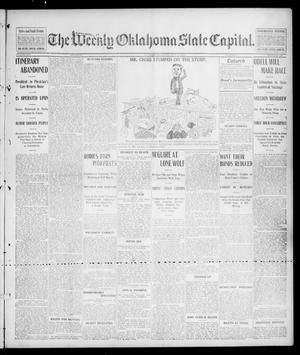Primary view of object titled 'The Weekly Oklahoma State Capital. (Guthrie, Okla.), Vol. 14, No. 130, Ed. 1 Saturday, September 27, 1902'.