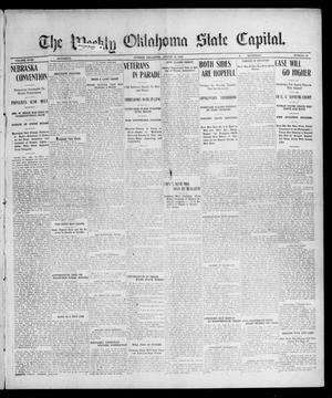 Primary view of object titled 'The Weekly Oklahoma State Capital. (Guthrie, Okla.), Vol. 18, No. 18, Ed. 1 Saturday, August 18, 1906'.