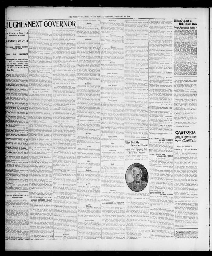 The Weekly Oklahoma State Capital. (Guthrie, Okla.), Vol. 18, No ...