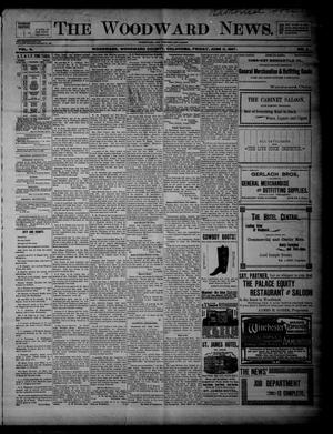 Primary view of object titled 'The Woodward News. (Woodward, Okla.), Vol. 4, No. 3, Ed. 1 Friday, June 11, 1897'.