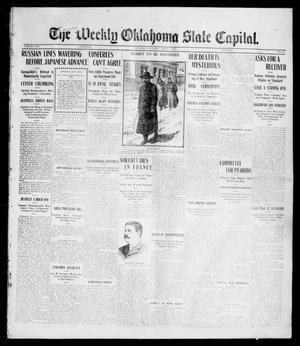 Primary view of object titled 'The Weekly Oklahoma State Capital. (Guthrie, Okla.), Vol. 16, No. 49, Ed. 1 Saturday, March 4, 1905'.