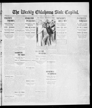 Primary view of object titled 'The Weekly Oklahoma State Capital. (Guthrie, Okla.), Vol. 16, No. 48, Ed. 1 Saturday, February 25, 1905'.
