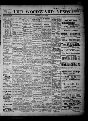 Primary view of The Woodward News. (Woodward, Okla.), Vol. 2, No. 20, Ed. 1 Friday, October 11, 1895