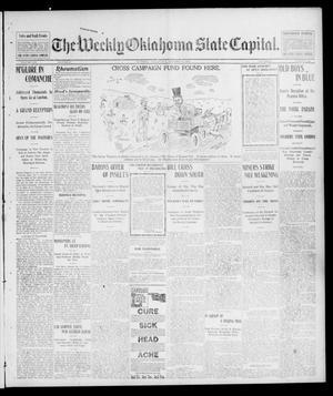 Primary view of object titled 'The Weekly Oklahoma State Capital. (Guthrie, Okla.), Vol. 14, No. 28, Ed. 1 Saturday, October 11, 1902'.