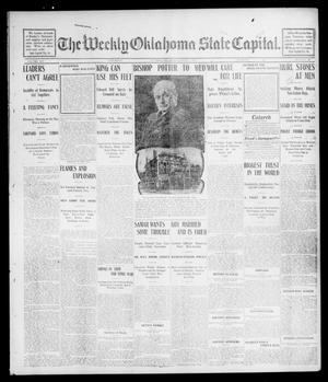 Primary view of object titled 'The Weekly Oklahoma State Capital. (Guthrie, Okla.), Vol. 14, No. 17, Ed. 1 Saturday, August 2, 1902'.