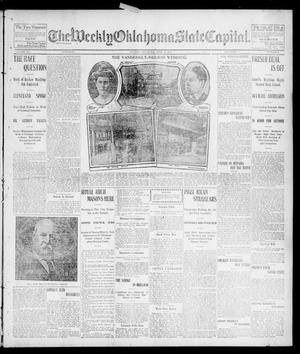 Primary view of object titled 'The Weekly Oklahoma State Capital. (Guthrie, Okla.), Vol. 15, No. 3, Ed. 1 Saturday, April 18, 1903'.