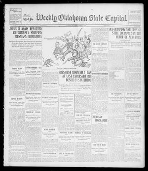 Primary view of object titled 'The Weekly Oklahoma State Capital. (Guthrie, Okla.), Vol. 15, No. 46, Ed. 1 Saturday, March 5, 1904'.
